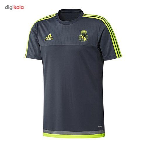 پیراهن تمرینی تیم رئال مادرید آدیداس مدل Real