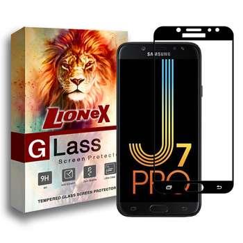 محافظ صفحه نمایش 5D لایونکس مدل USS مناسب برای گوشی موبایل سامسونگ Galaxy J7 Pro