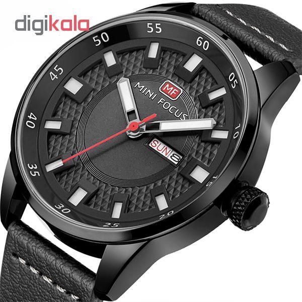 ساعت مچی عقربه ای مردانه مینی فوکوس مدل mf0027g.08