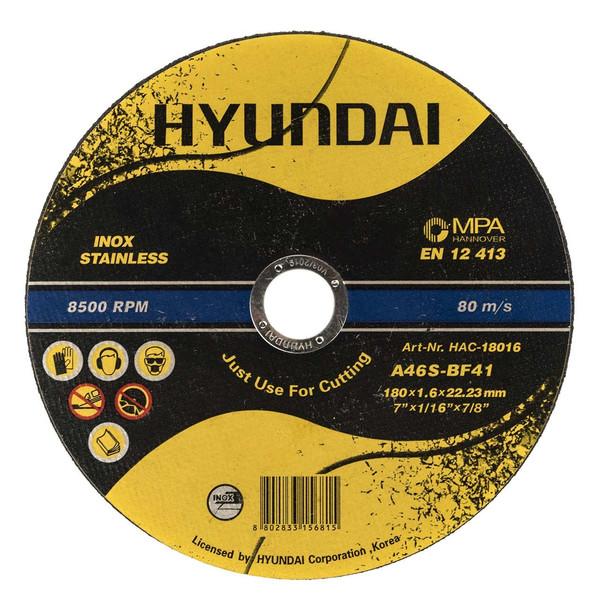 صفحه برش استیل هیوندای مدل HAC-18016  مجموعه 20 عددی