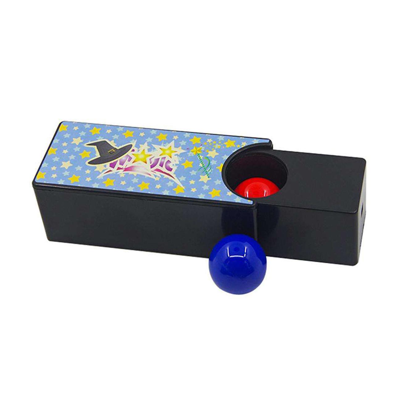 ابزار شعبده بازی طرح جعبه توپ سحرامیز DSK