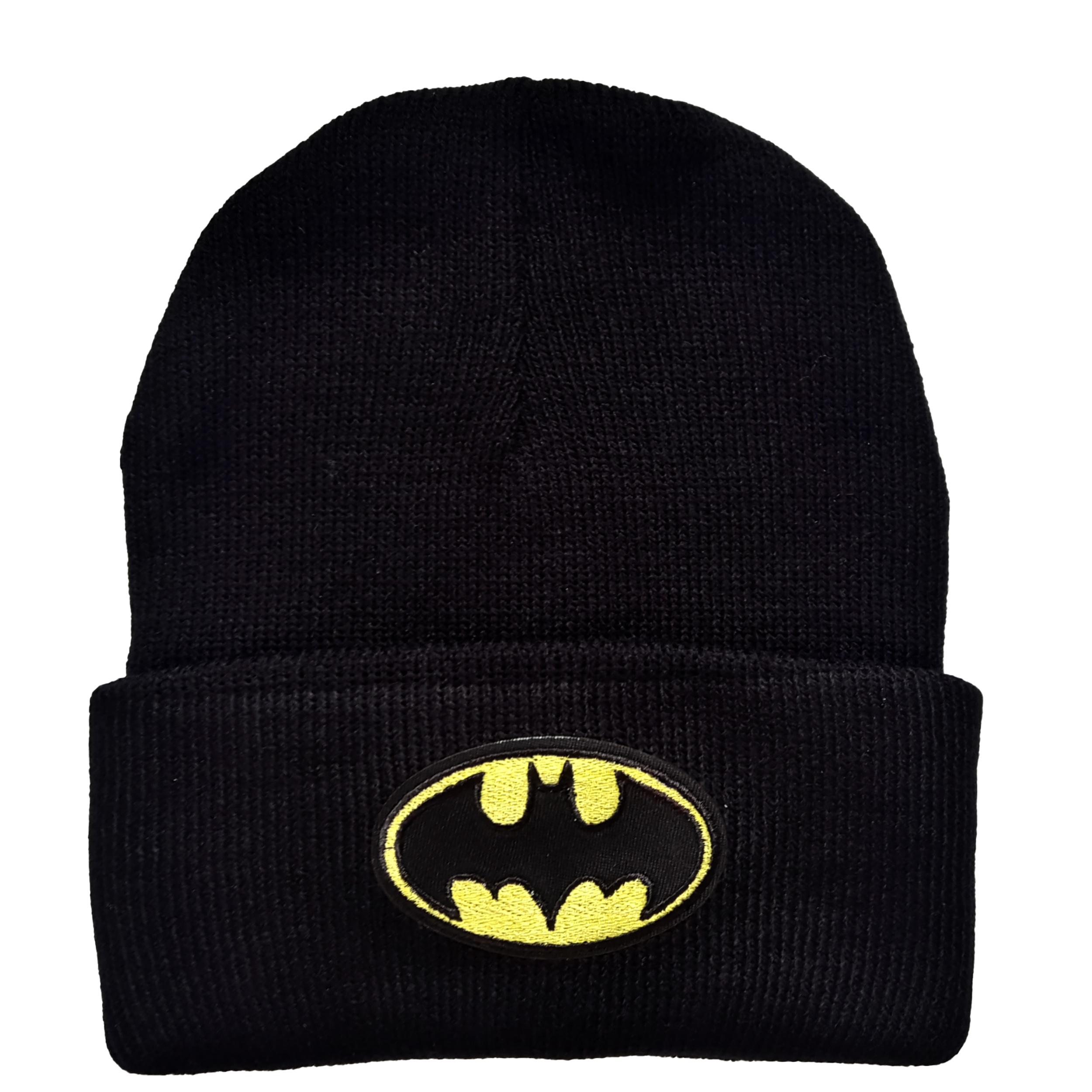 کلاه بافتنی طرح بتمن کد K0-38