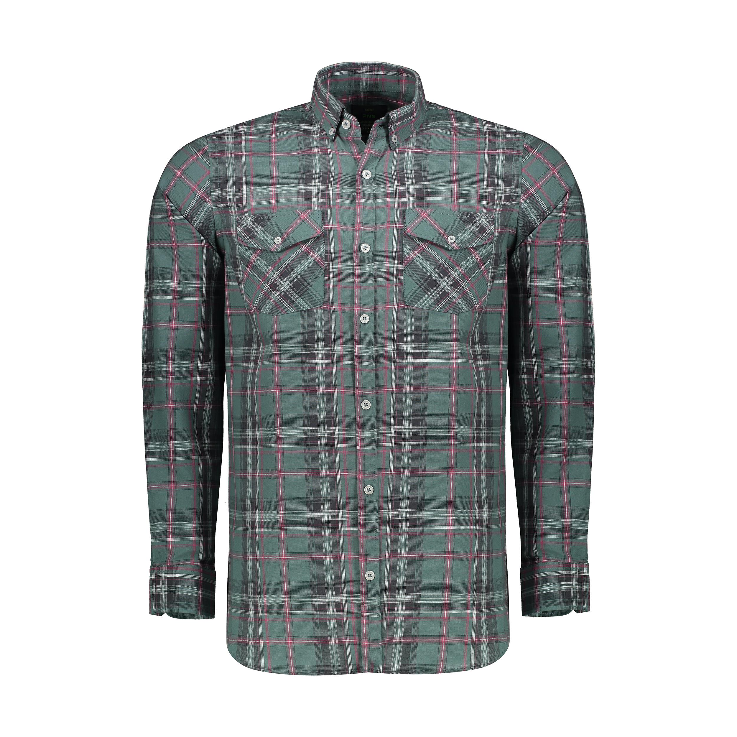پیراهن مردانه آر ان اس مدل 120013-43