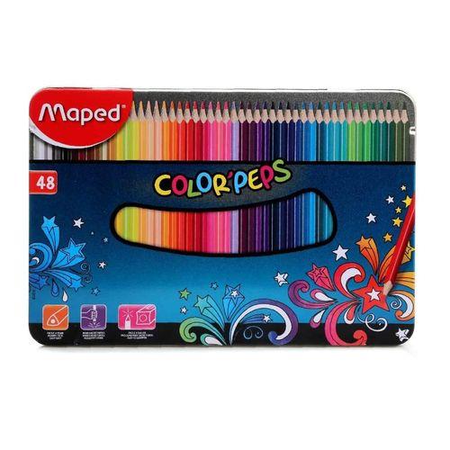 مداد رنگی 48 رنگ مپد سری کالرپپس کد 8500