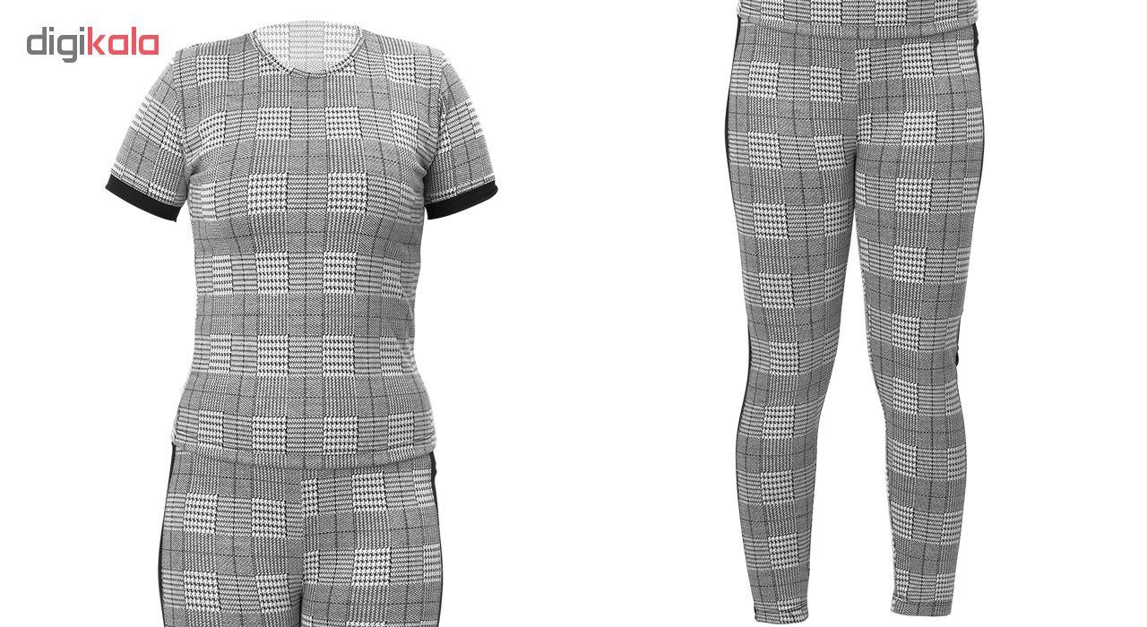 خرید                                      ست تی شرت و شلوار زنانه کد 700