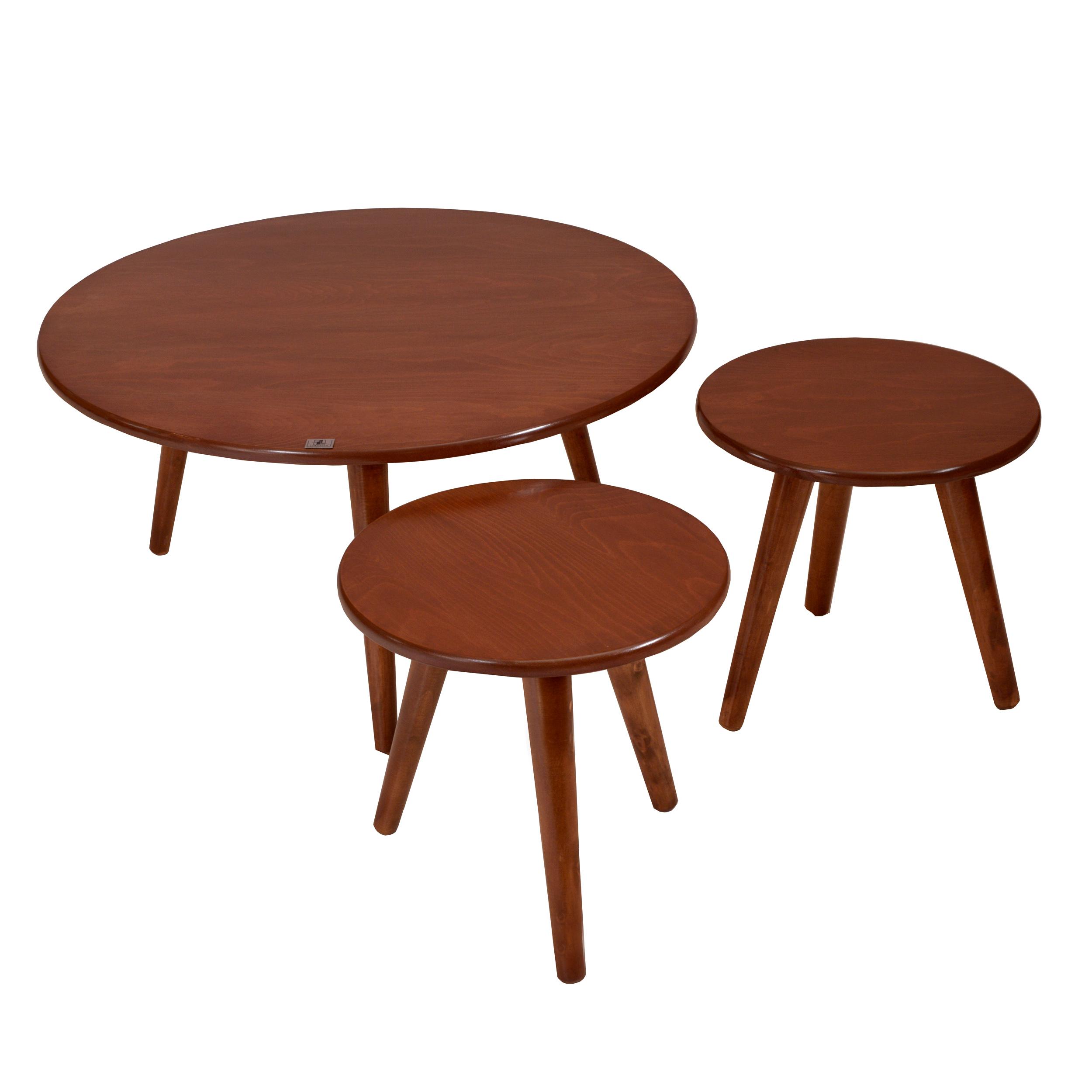 میز جلو مبلی و عسلی مدل Benetly3 مجموعه 3 عددی