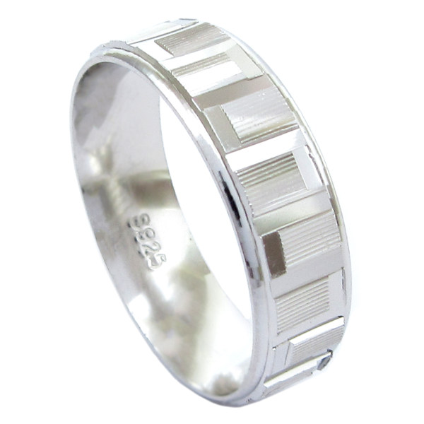 انگشتر نقره آی جواهر کد 11736SR7