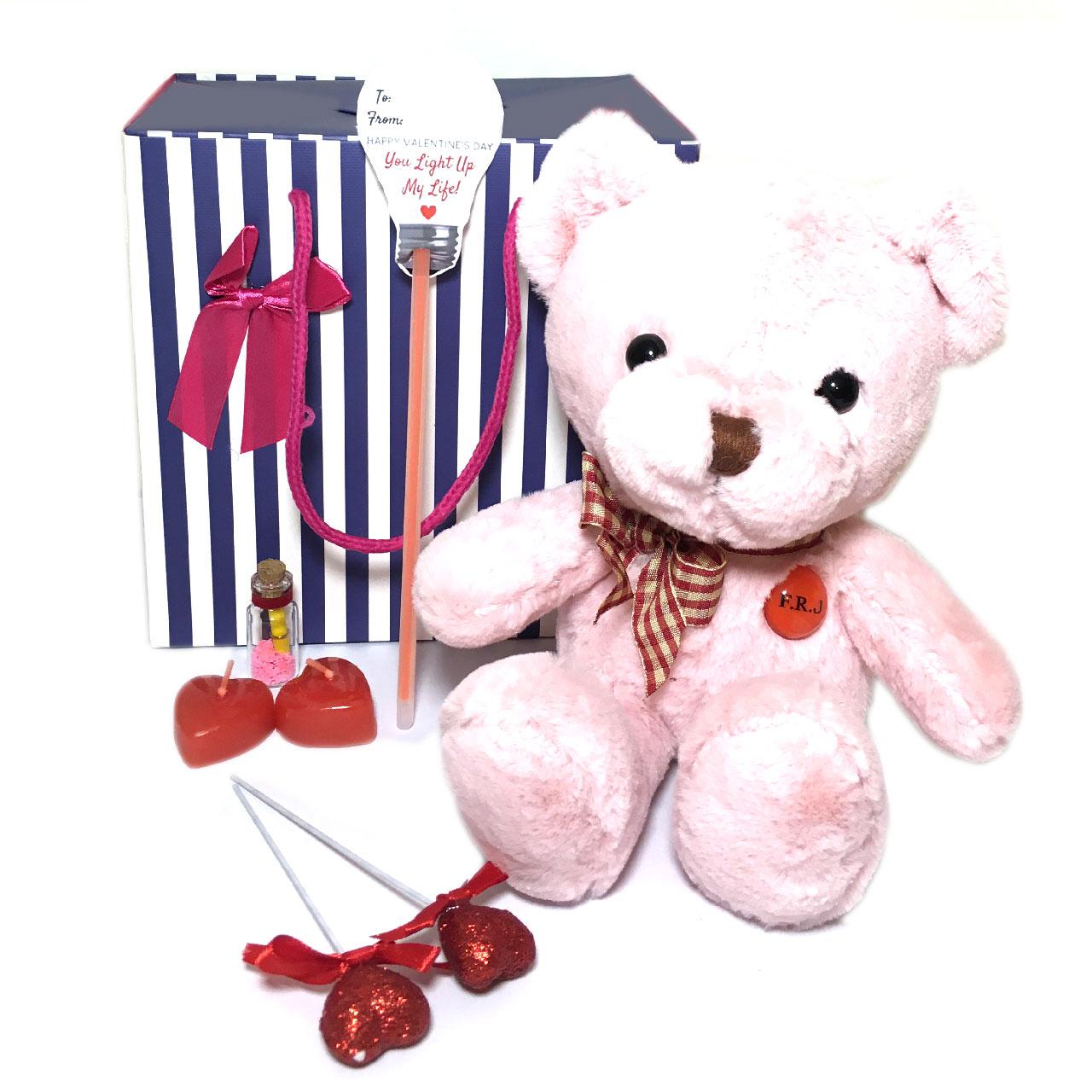 ست هدیه عروسک مدل Lovly Bear37