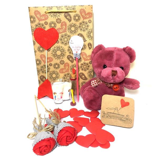 ست هدیه عروسک مدل Lovly Bear34