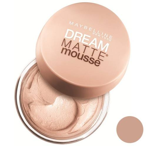 موس میبلین مدل Dream Matte Mousse Sand 30