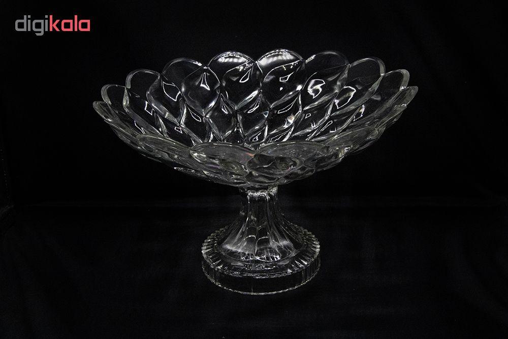 میوه خوری شیشه و بلور اصفان بلور کاوه مدل فلورانس کد 142