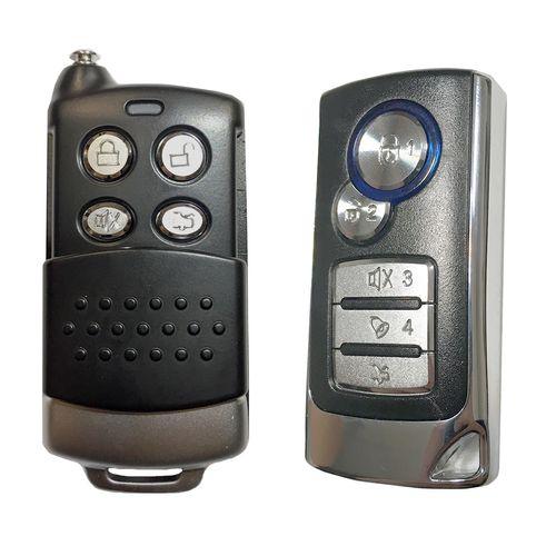 دزدگیر خودرو استیل میت مدل 838G کد ریموت 5056-5037