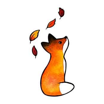 استیکر لپ تاپ گراسیپا طرح روباه