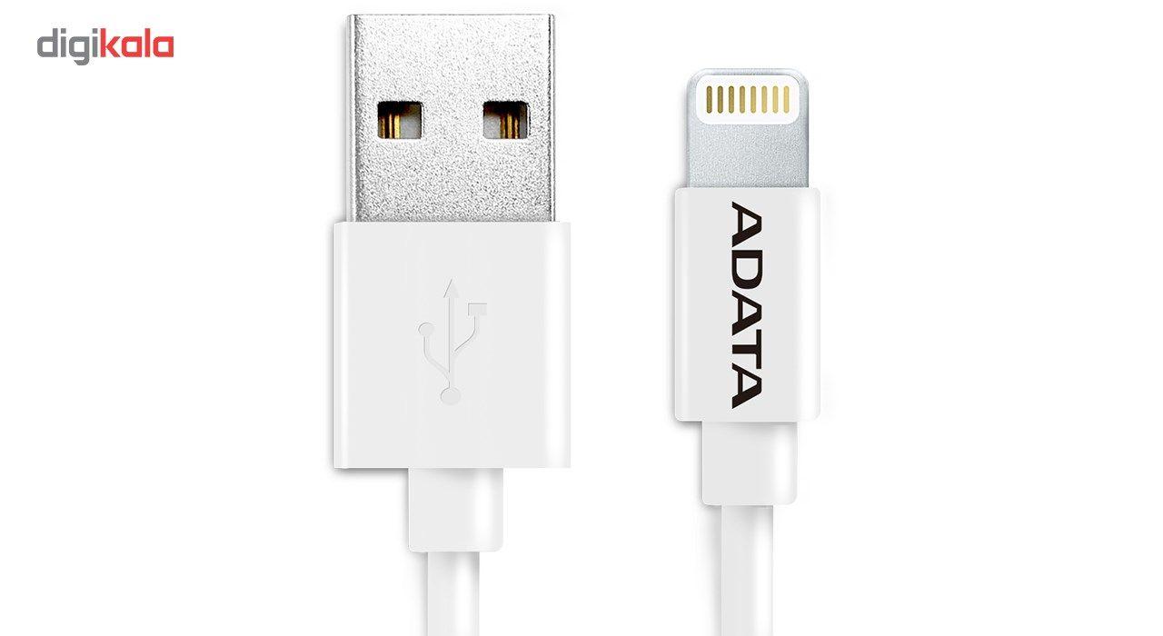 کابل تبدیل USB به لایتنینگ ای دیتا مدل Sync And Charge طول 1 متر main 1 1