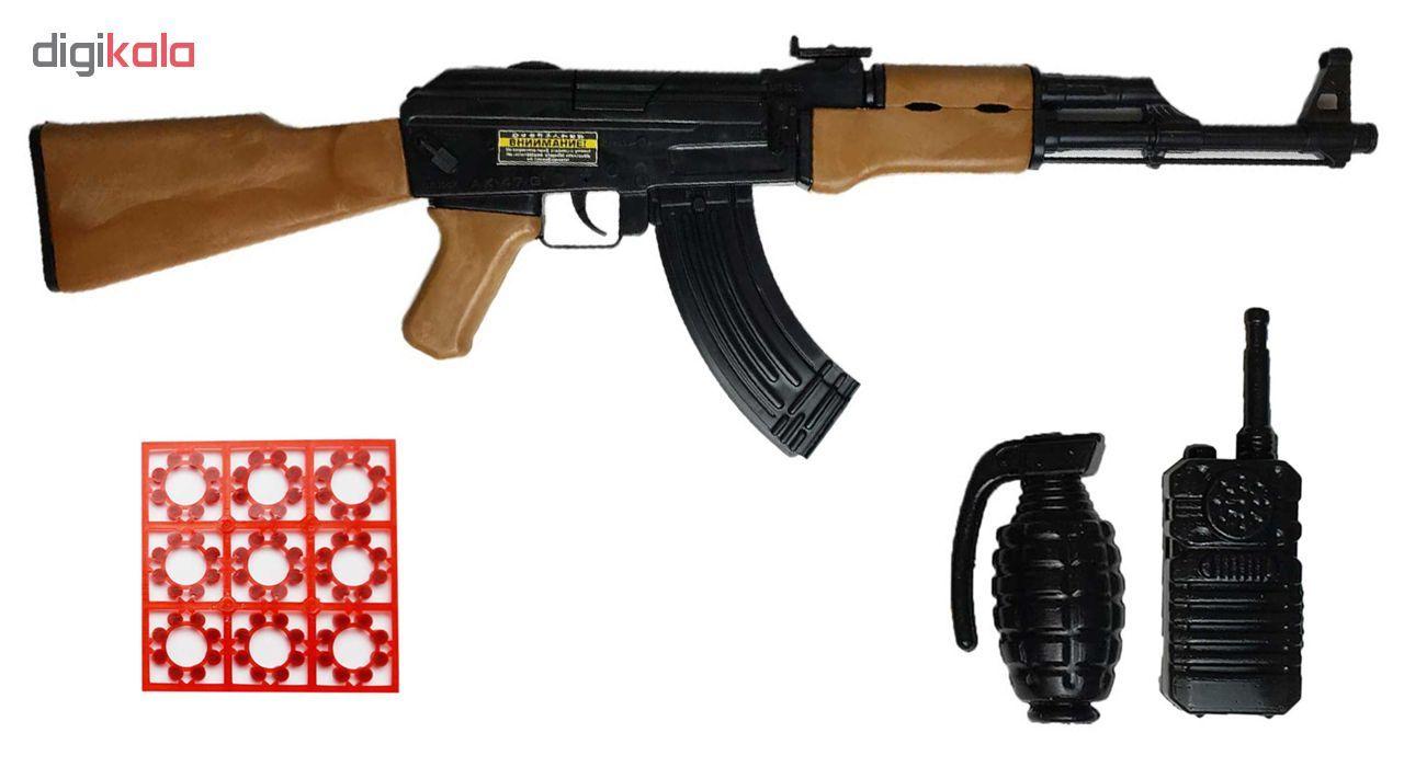 تفنگ اسباب بازی گلدن گان مدل AK-47  main 1 1