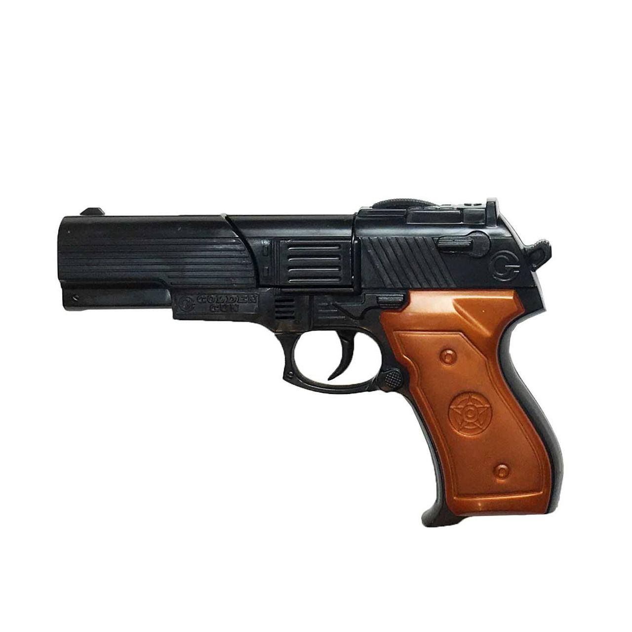 خرید                     تفنگ اسباب بازی گلدن گان مدل G-01