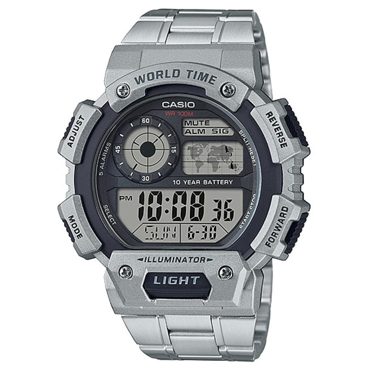 ساعت مچی دیجیتالی مردانه کاسیو مدل AE-1400WHD-1AVDF 37