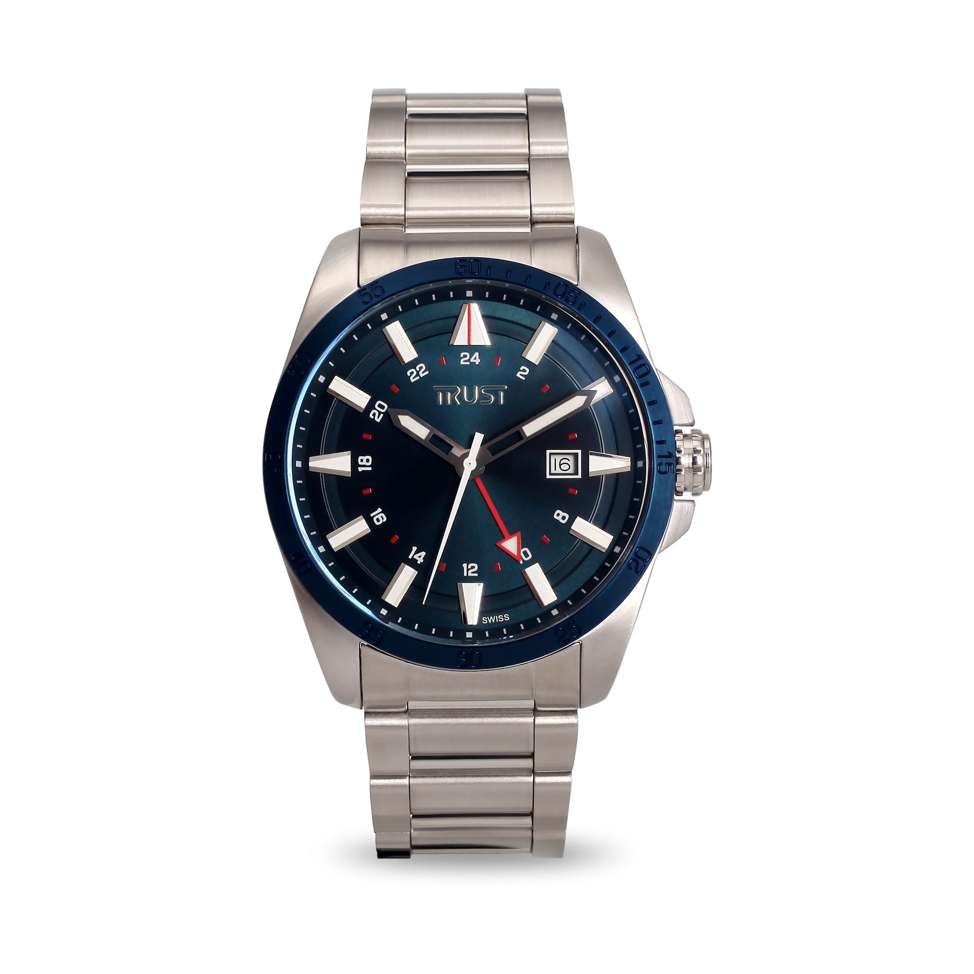 ساعت مچی عقربه ای مردانه  تراست مدل G456KRG 22