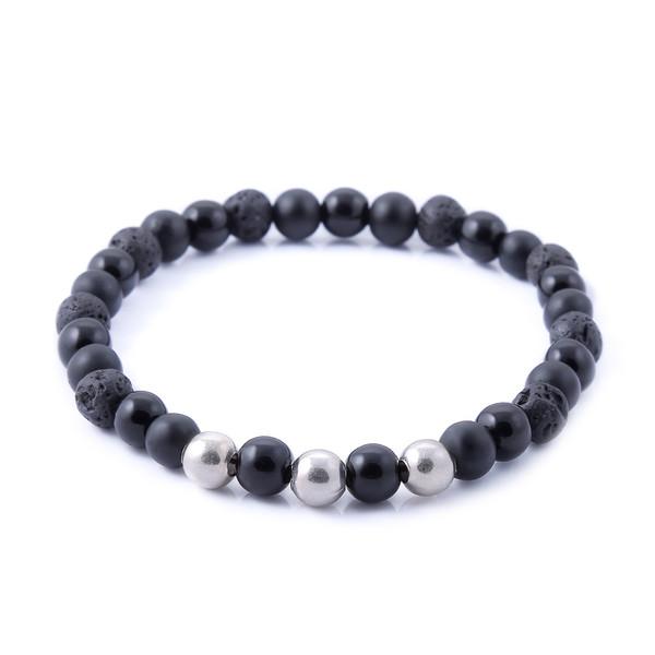 دستبند نقره مردانه جواهرات ژوپی یر مدل TSB22