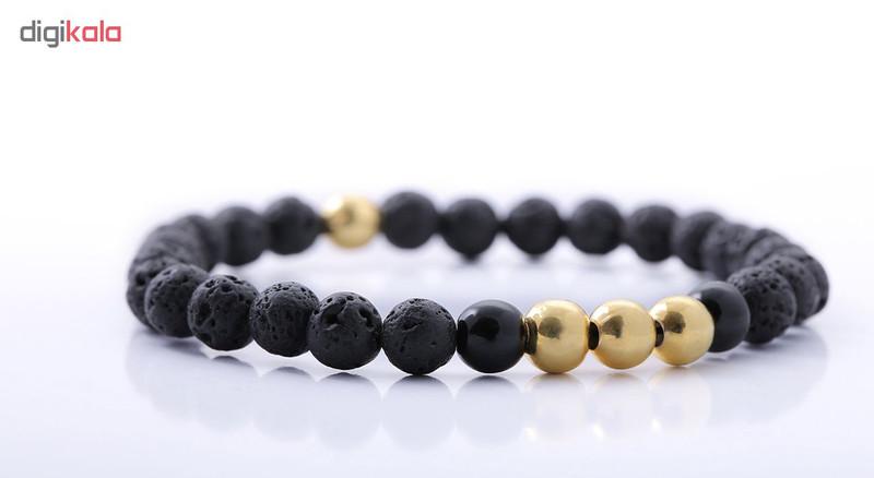 دستبند نقره مردانه جواهرات ژوپی یر مدل TSB23