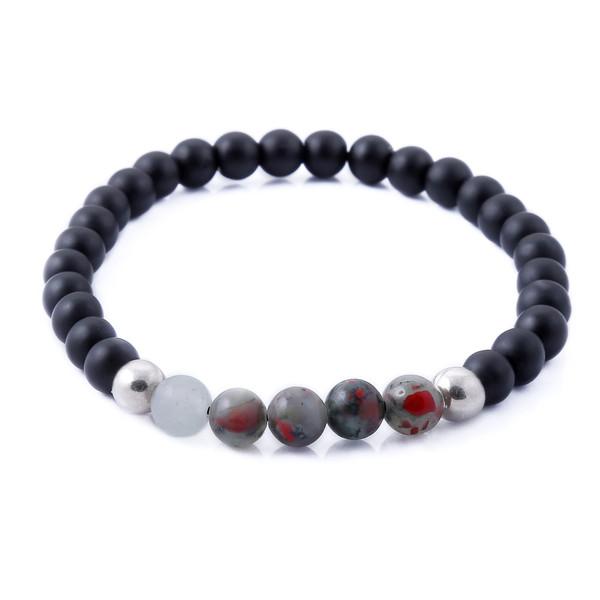 دستبند نقره مردانه جواهرات ژوپی یر مدل TSB33