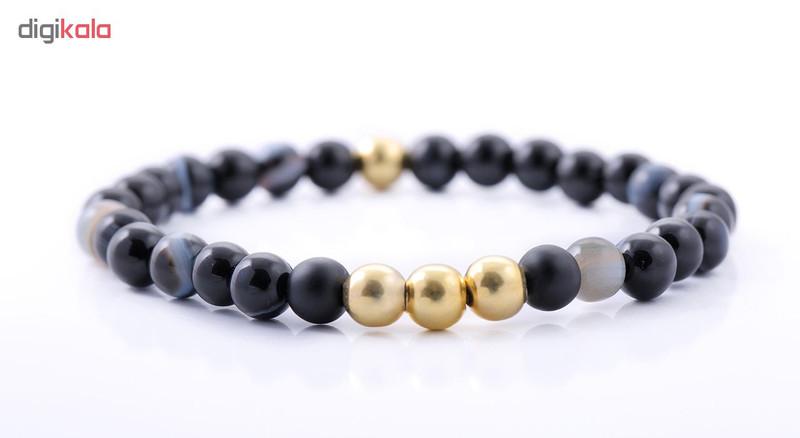 دستبند نقره مردانه جواهرات ژوپی یر مدل TSB37