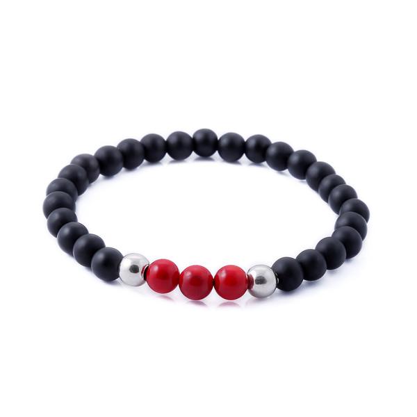 دستبند نقره مردانه جواهرات ژوپی یر مدل TSB45
