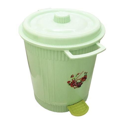 سطل زباله طرح گل مدل 02