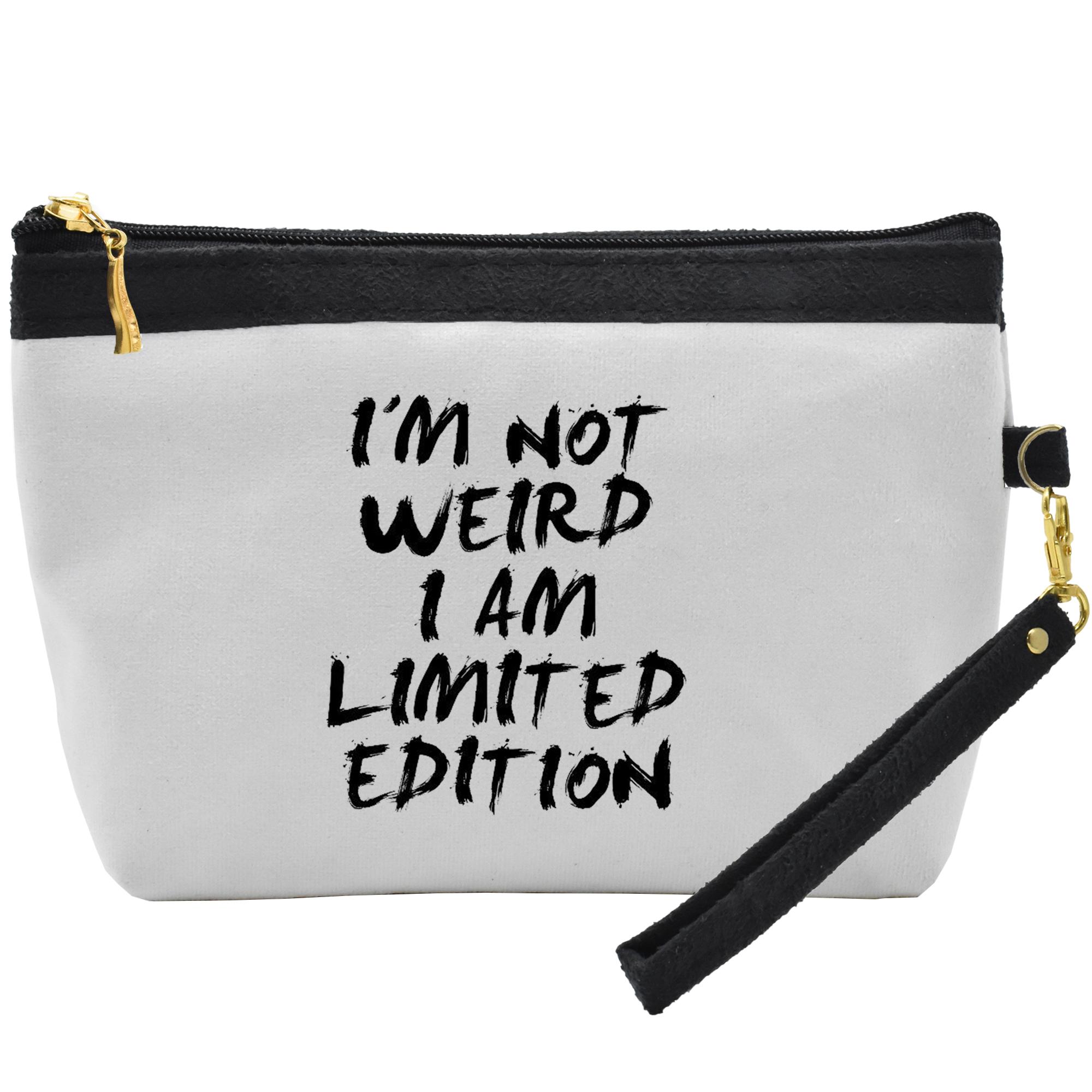 کیف لوازم آرایشی طرح Limited Edition کد C10