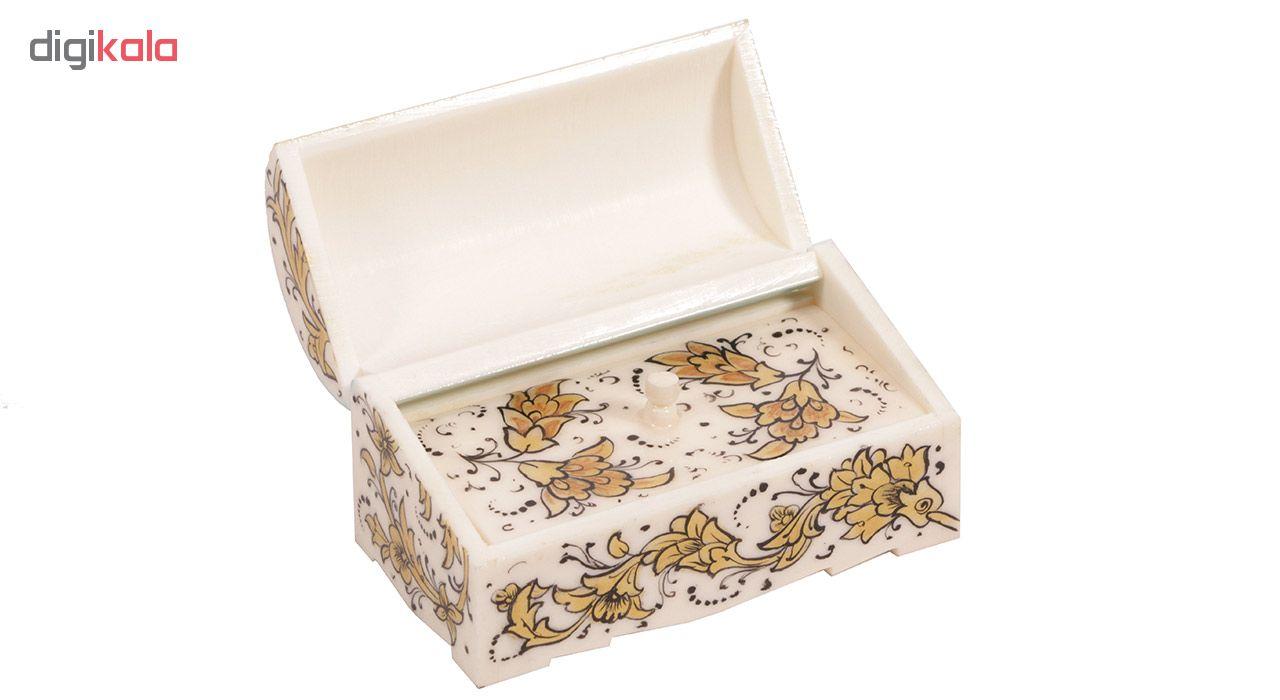 جعبه جواهرات استخوانی گالری گوهران مدل 208
