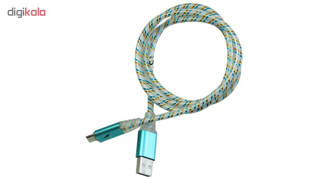 کابل تبدیل USB به microUSB تسکو مدل TC 58 طول 1 متر main 1 3