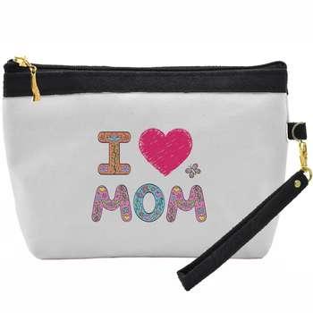 کیف لوازم آرایشی طرح Love Mom کد C11 |