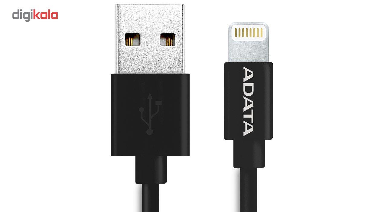 کابل تبدیل USB به لایتنینگ ای دیتا مدل Sync And Charge طول 1 متر main 1 2