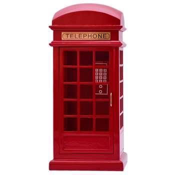جعبه موزیکال طرح کیوسک تلفن کد 3008