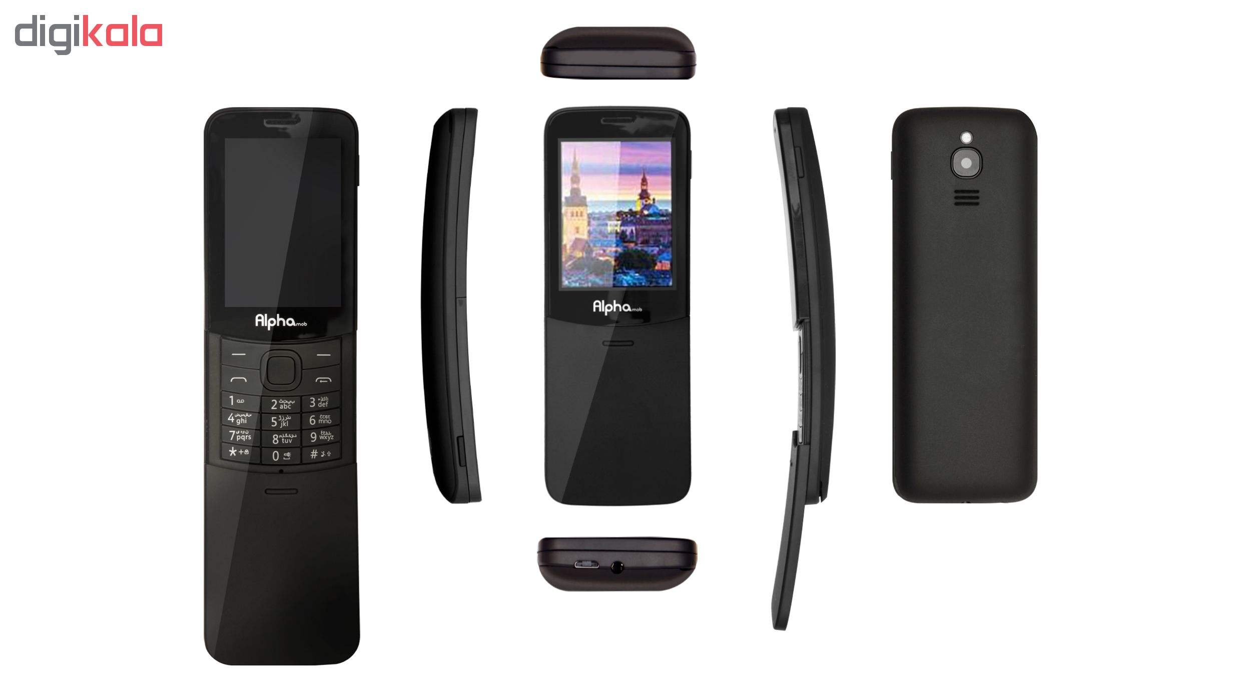 گوشی موبایل آلفاموب مدل x9 دو سیم کارت main 1 7