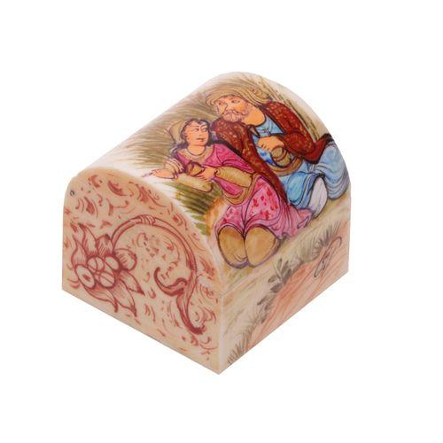 جعبه جواهرات استخوانی گالری گوهران مدل 212