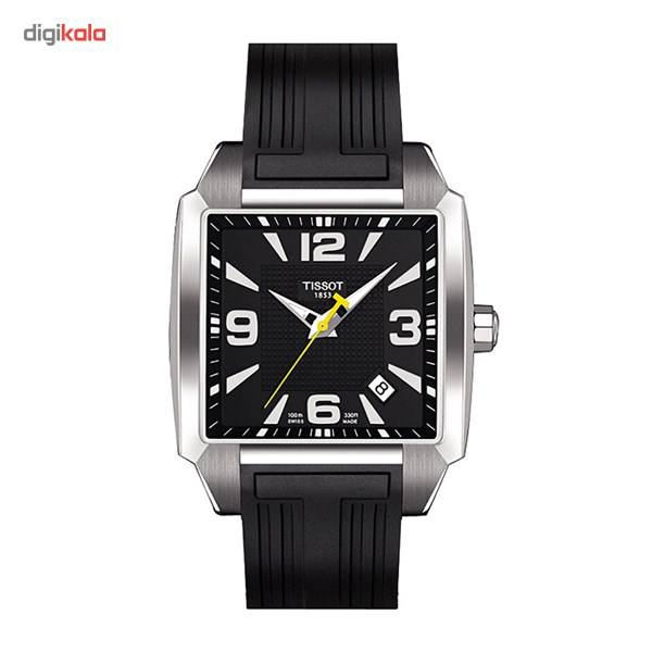 ساعت مچی عقربه ای مردانه تیسوت مدل Quadrato T005.510.17.057.00 -  - 2