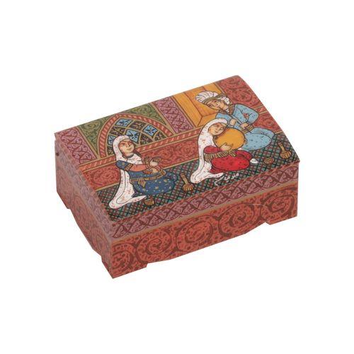 جعبه جواهرات استخوانی گالری گوهران مدل 214