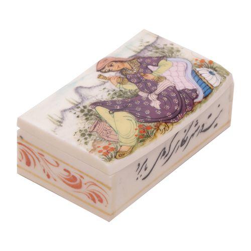 جعبه جواهرات استخوانی گالری گوهران مدل 216