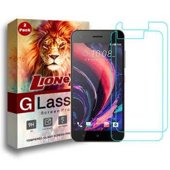 محافظ صفحه نمایش لایونکس مدل UPS مناسب برای گوشی موبایل اچ تی سی Desire 10 Pro بسته دو عددی