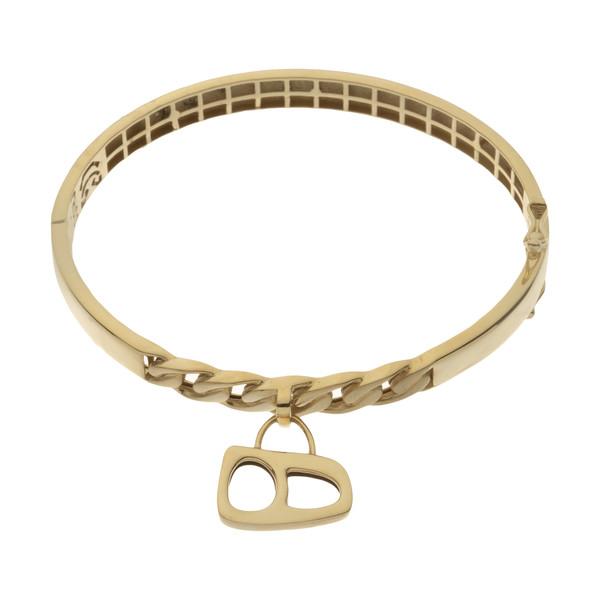 دستبند النگویی طلا 18 عیار زنانه مایا ماهک مدل MB1153