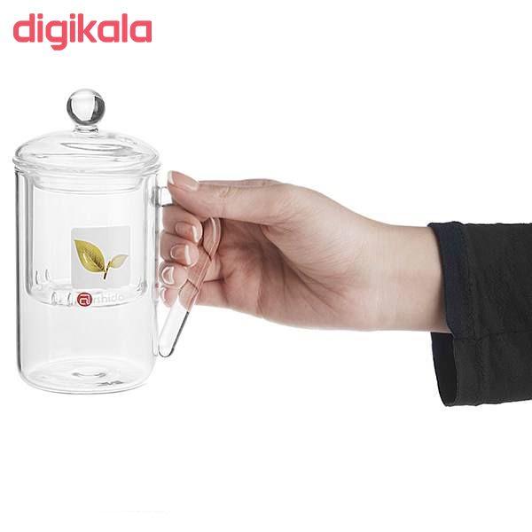 لیوان دمنوش ساز آرشیدا کد DG01 main 1 2