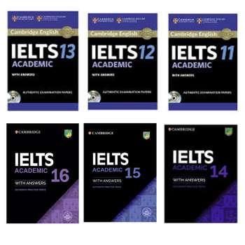 کتاب Cambridge IELTS Academic اثر جمعی از نویسندگان انتشارات کمبریج 6 جلدی
