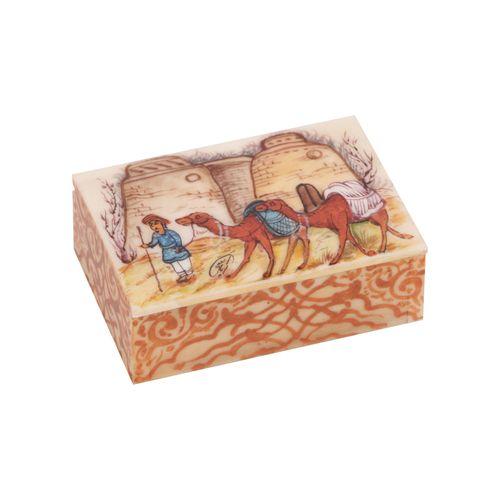جعبه جواهرات استخوانی گالری گوهران مدل 220