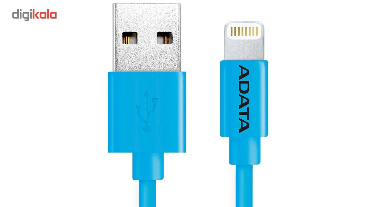 کابل تبدیل USB به لایتنینگ ای دیتا مدل Sync And Charge طول 1 متر main 1 3