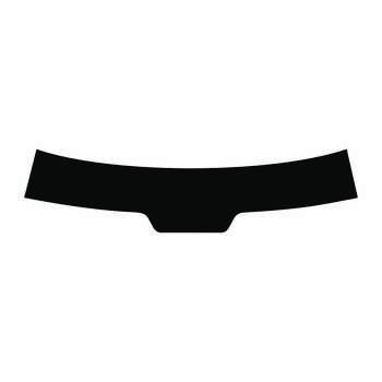 بر چسب آفتابگیر خودرو کد S188 مناسب برای پژو 206