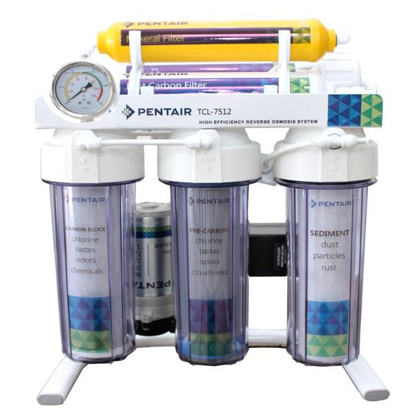 دستگاه تصفیه کننده آب پنتیر مدل TLC-7512 transparent