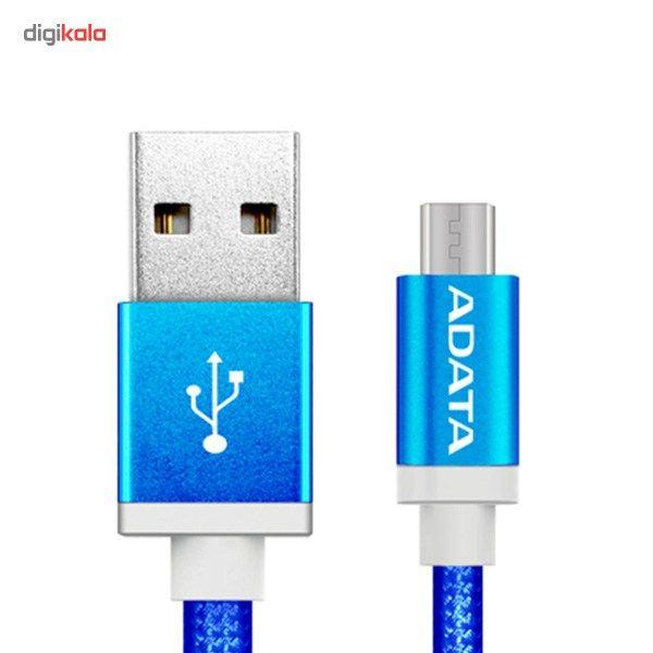 کابل تبدیل USB به microUSB ای دیتا مدل Reversible Aluminum به طول 1 متر main 1 8
