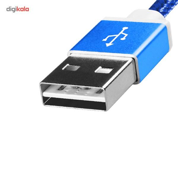 کابل تبدیل USB به microUSB ای دیتا مدل Reversible Aluminum به طول 1 متر main 1 9