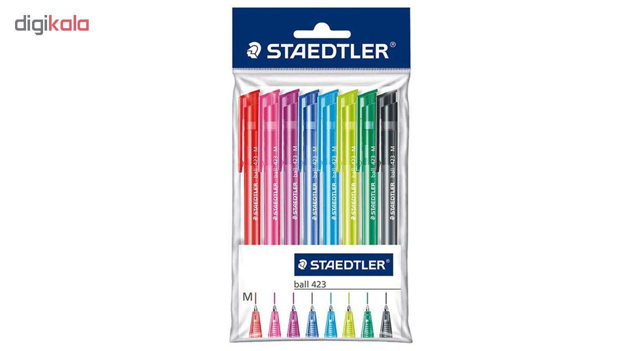 خودکار استدلر مدل 423 – بسته 8 عددی  Staedtler 423 Pen – Pack of 8
